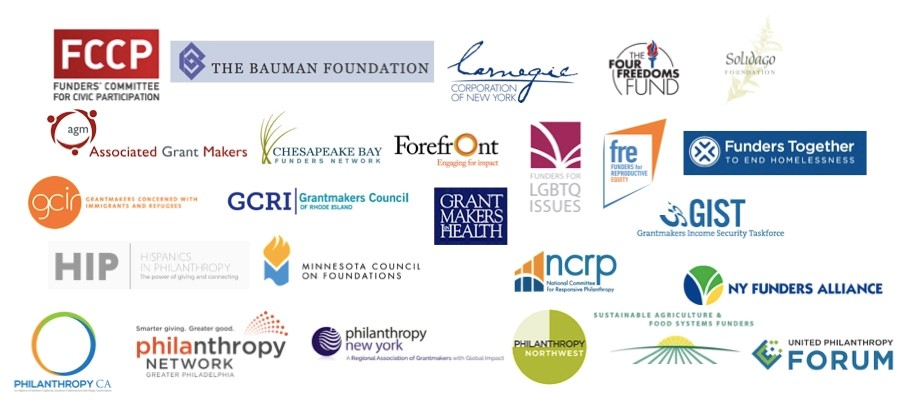 Census webinar sponsors