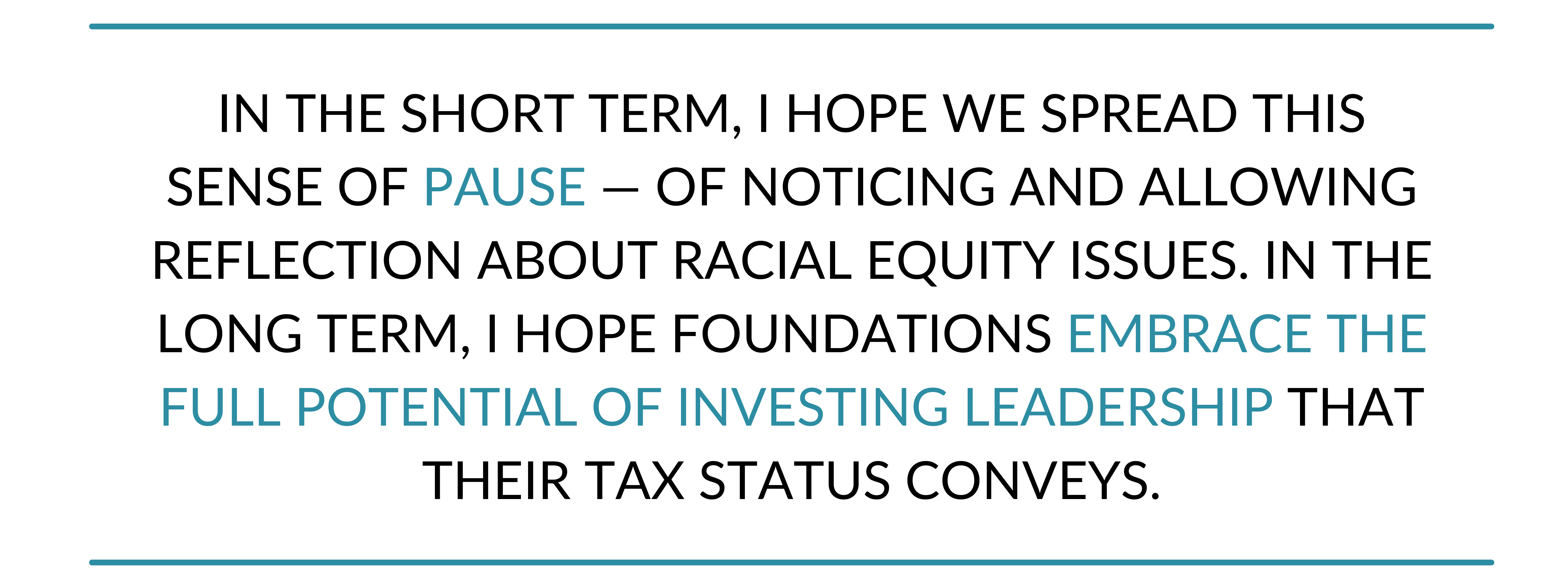 Investing leadership for racial equity