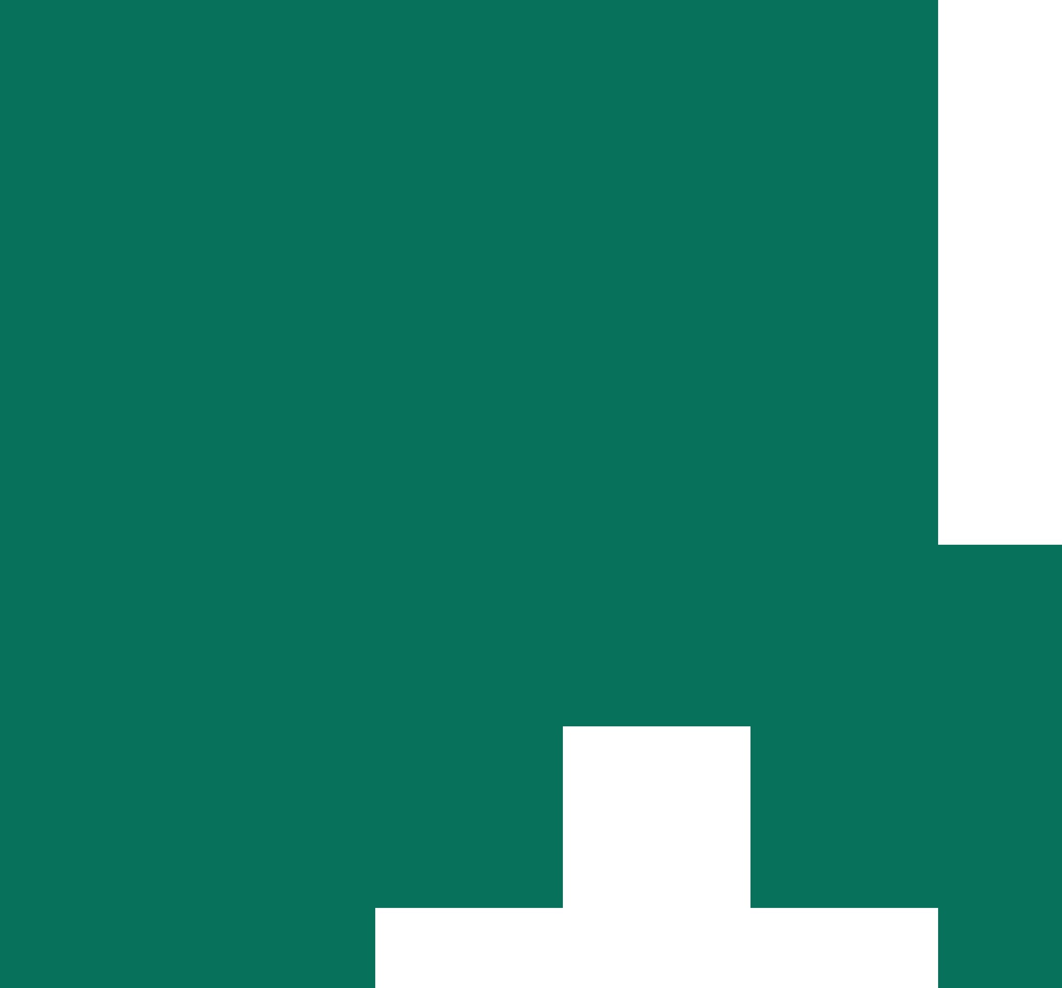 Pine green Alaska state icon