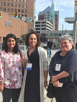 Anjana Pandey, Maya Thornell-Sandifor and Kelley Bevans, Philanthropy Northwest