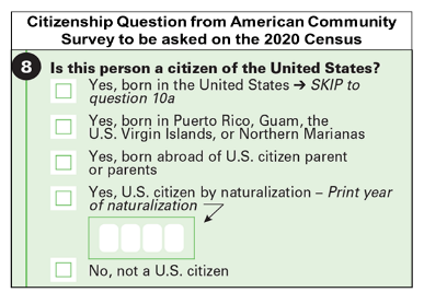 Census citizenship question image