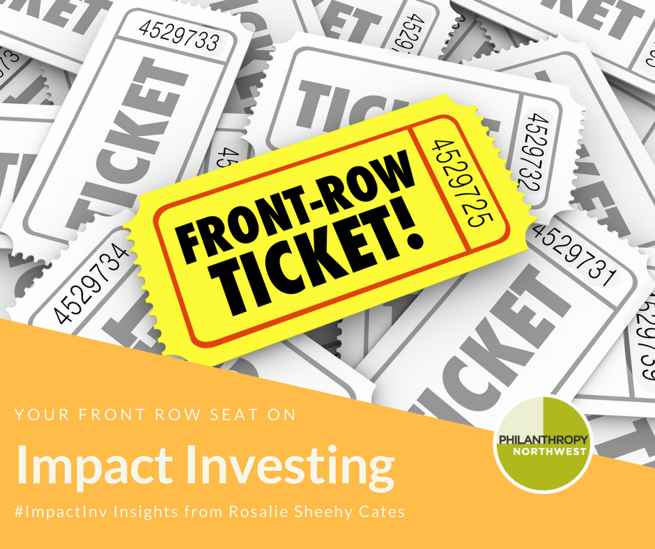 Front Row Seat Impact Investing