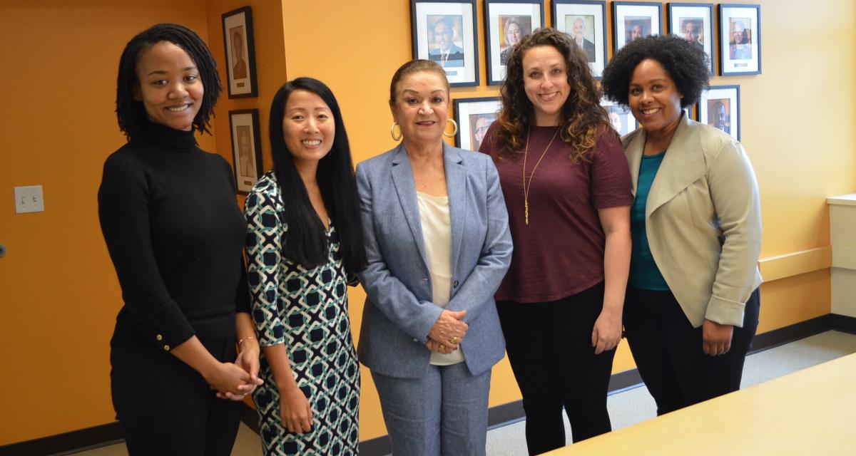 MCF Momentum Fellows and Luz Vega-Marquis