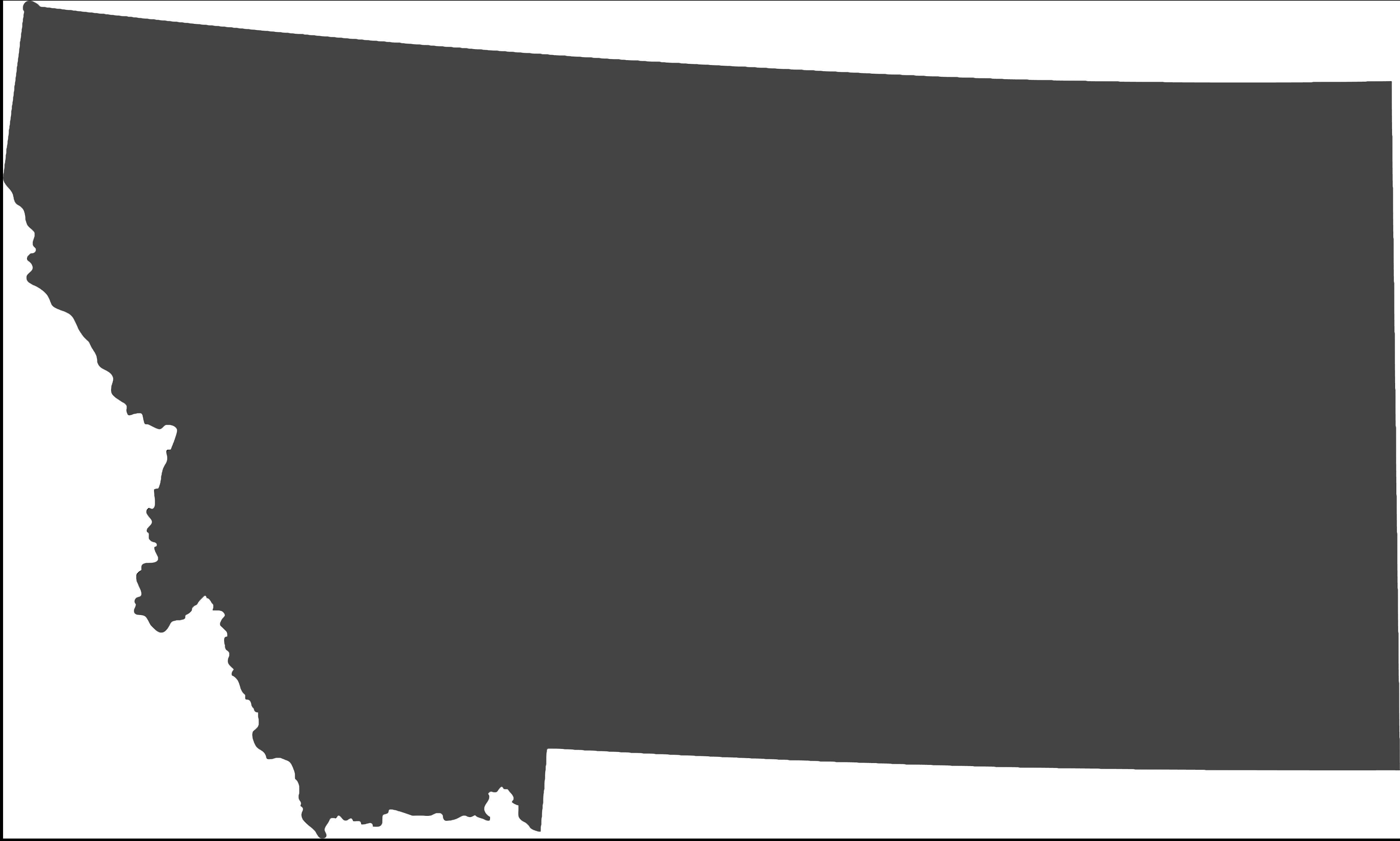 Gray Montana State Icon