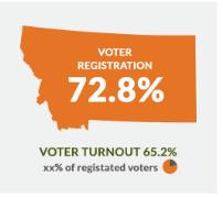 Montana voter stats