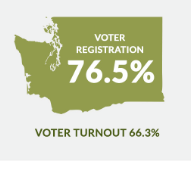Washington Voter stats