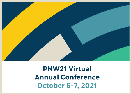 Save the date basic branded banner for PNW21 Virtual Annual Conference