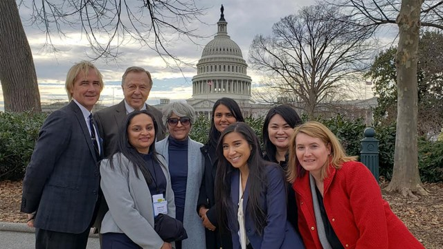FOTH staff and member delegates at Capitol Hill in 2019