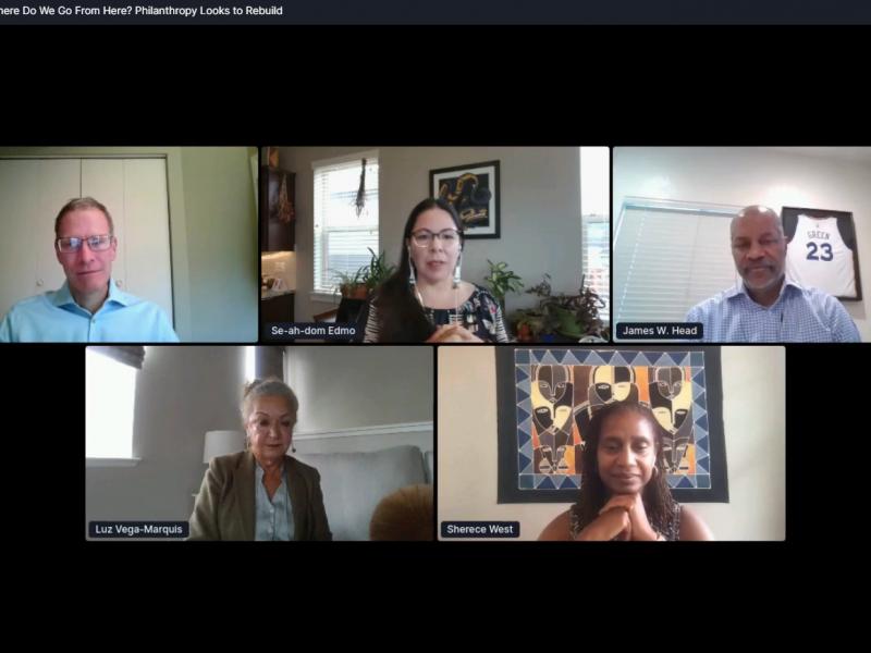 Screenshot of PNW20 Day 3 speakers