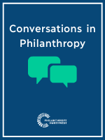 Conversations in Philanthropy Graphic