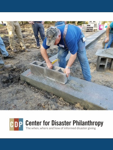 Center for Disaster Philanthropy_People building infrastructure