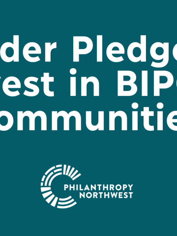 Funder Pledge to Invest in Black, Indigenous and People of Color Communities blog graphic