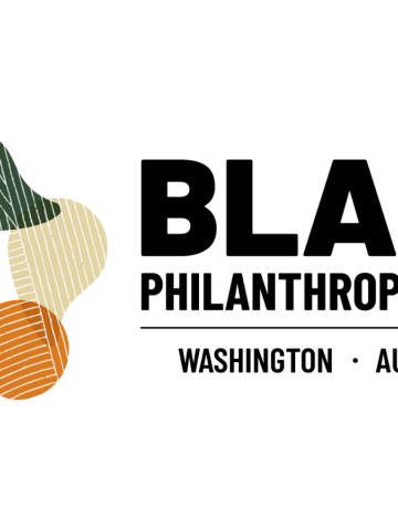 Washington state Black Philanthropy Month logo - August 2021
