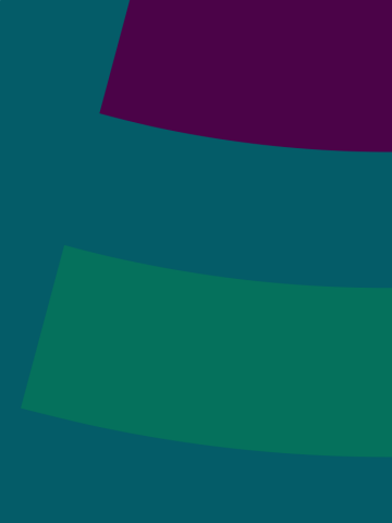 Philanthropy Northwest graphic elements, ocean blue colored background with arcs of river blue, plum, and pine green colors